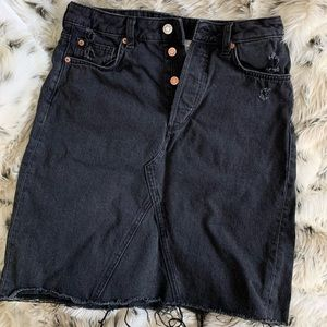 Denim & Denim Skirt
